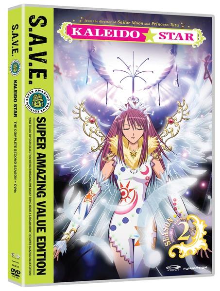 Kaleido Star Season 2 + OVAs DVD Complete Collection SAVE Edition