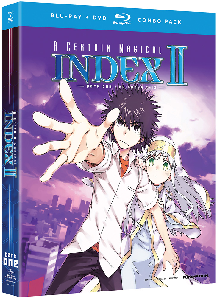 A Certain Magical Index II Part 1 Blu-ray/DVD