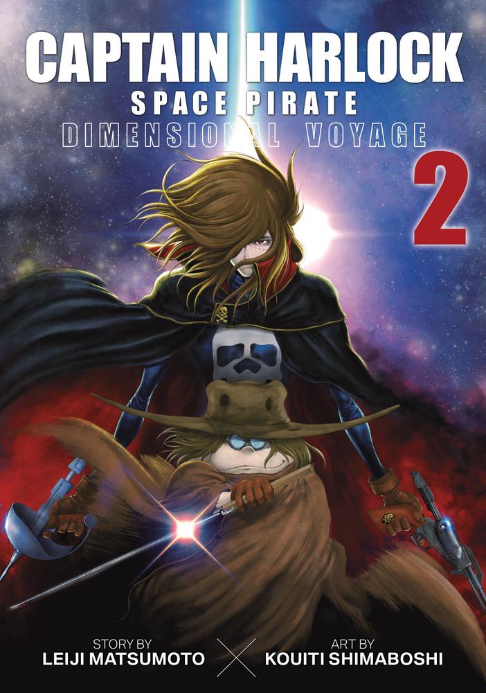 Captain Harlock Dimensional Voyage Manga Volume 2
