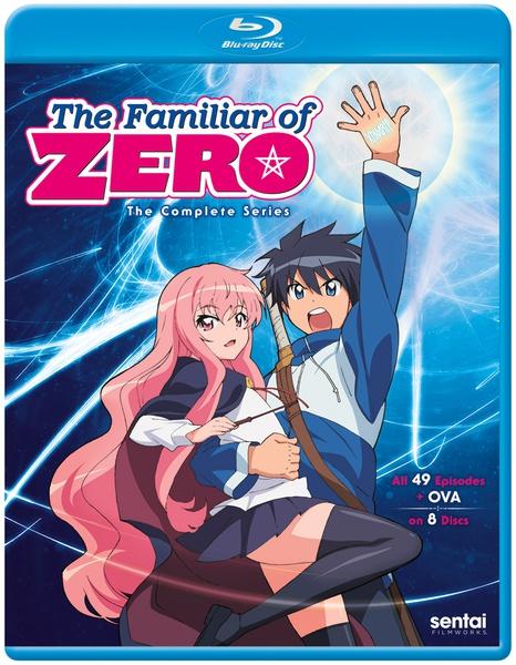 The Familiar of Zero Complete Series Blu-ray