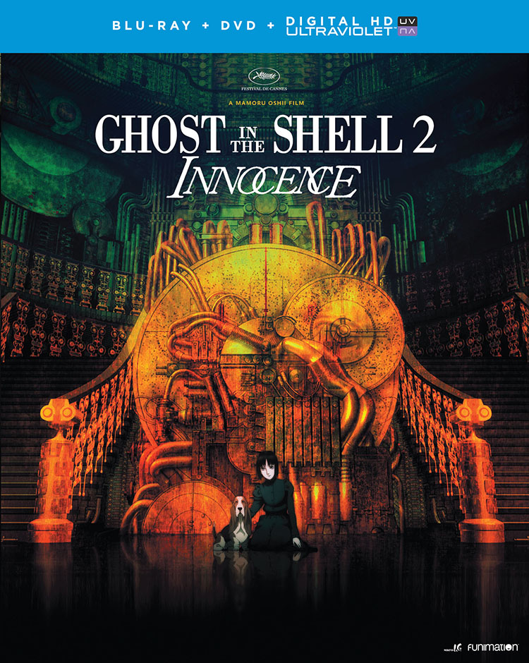 Ghost in the Shell 2 Innocence Blu-ray/DVD + UV