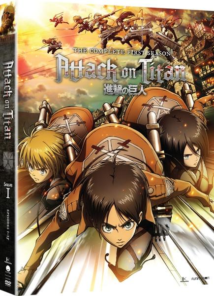 Attack on Titan Season 1 Blu-ray