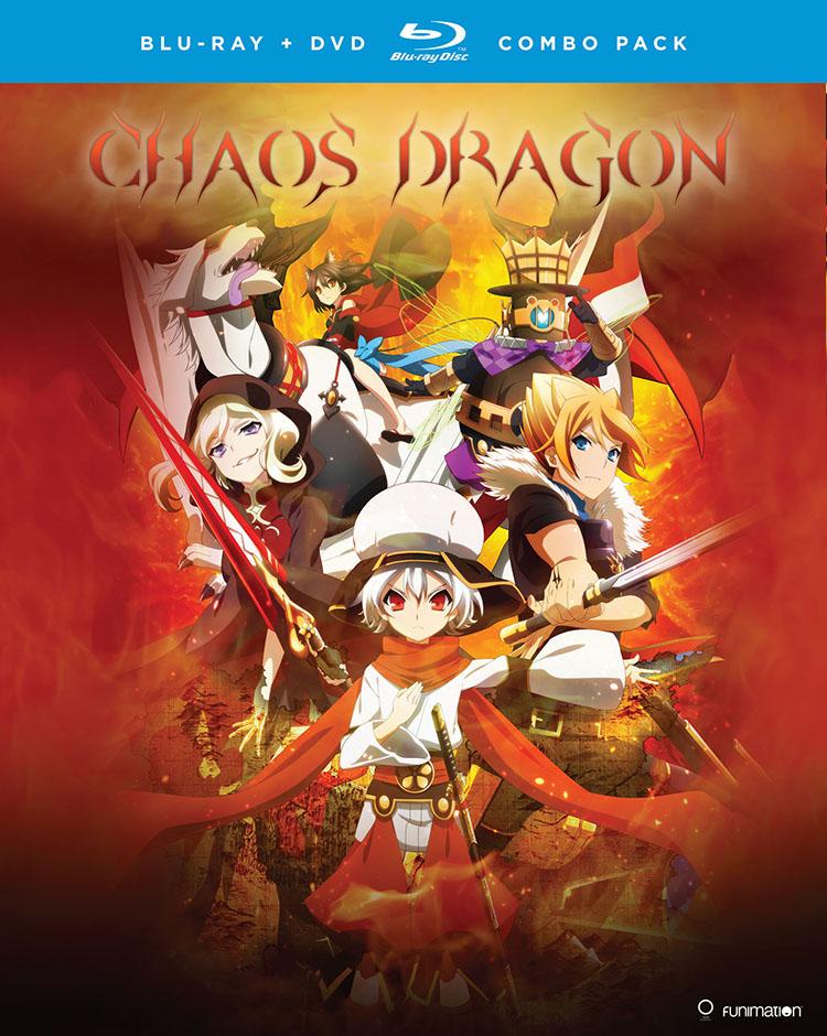 Chaos Dragon Blu-ray/DVD