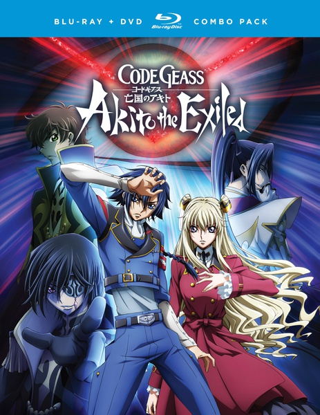Code Geass Akito the Exiled Blu-ray/DVD