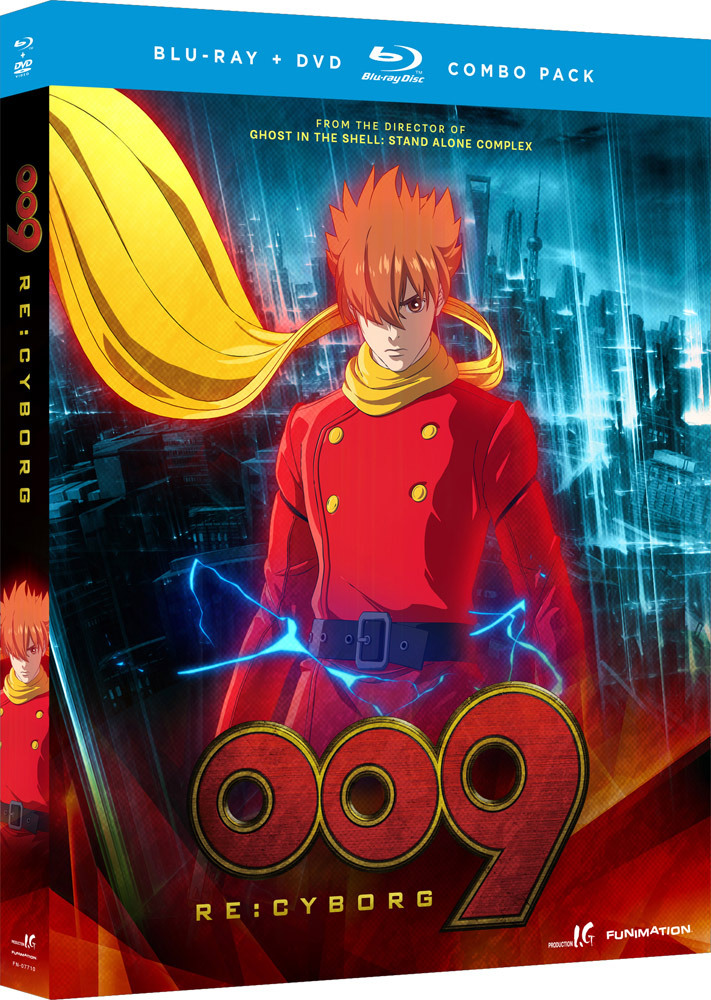 009 Re:Cyborg Movie Blu-ray/DVD