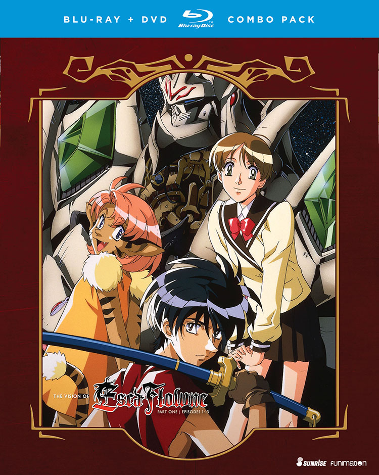 The Vision of Escaflowne Part 1 Blu-ray/DVD