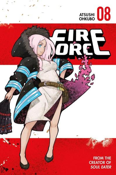 Fire Force Manga Volume 8