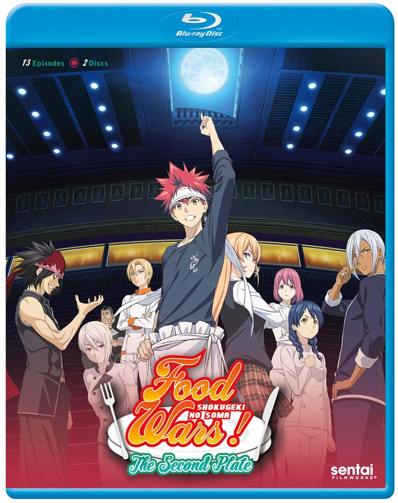 Food Wars! The Second Plate Blu-ray