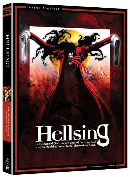 Hellsing Complete Series DVD Anime Classics