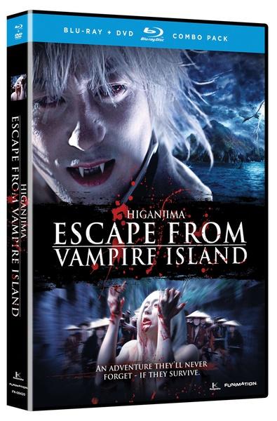 Higanjima Escape From Vampire Island Blu-ray/DVD LiveAction