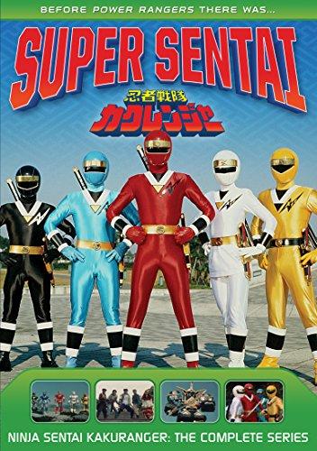 Power Rangers Ninja Sentai Kakuranger DVD