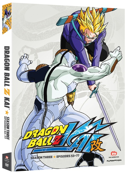 Dragon Ball Z Kai Season 3 DVD