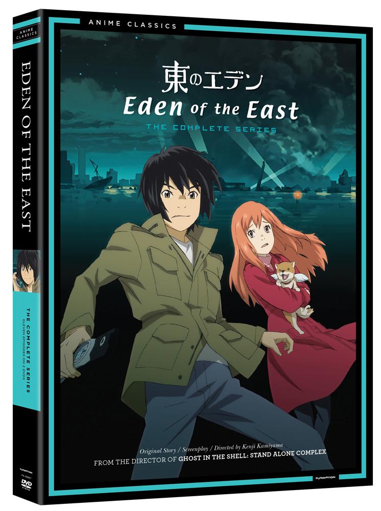 Eden of the East DVD Anime Classics