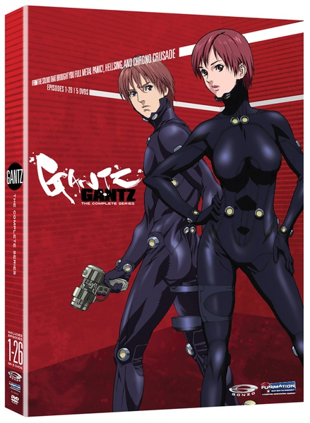 Gantz Complete Series DVD Anime Classics