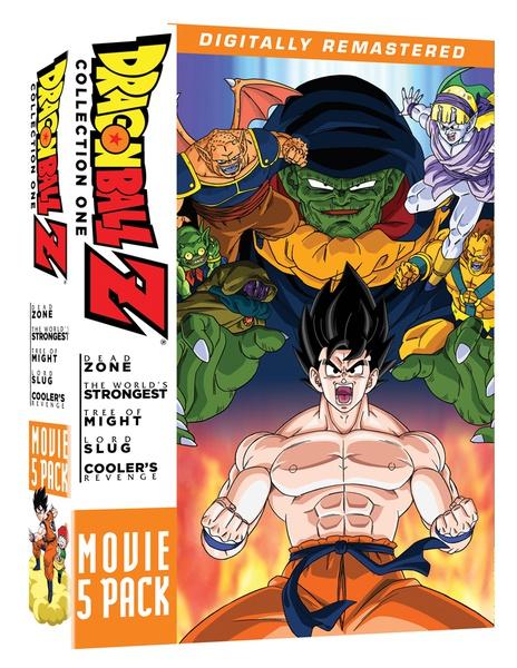 Dragon Ball Z Movie Collection 1 DVD