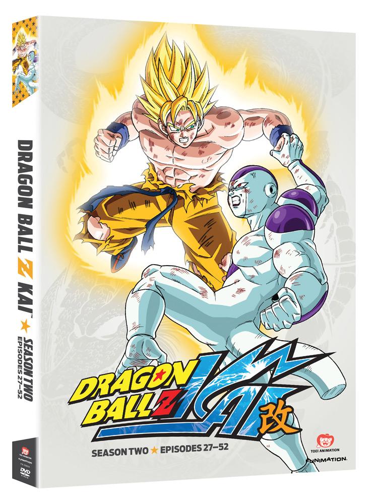 Dragon Ball Z Kai Season 2 DVD
