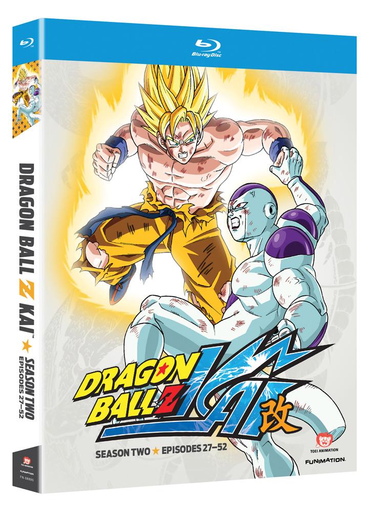 Dragon Ball Z Kai Season 2 Blu-ray
