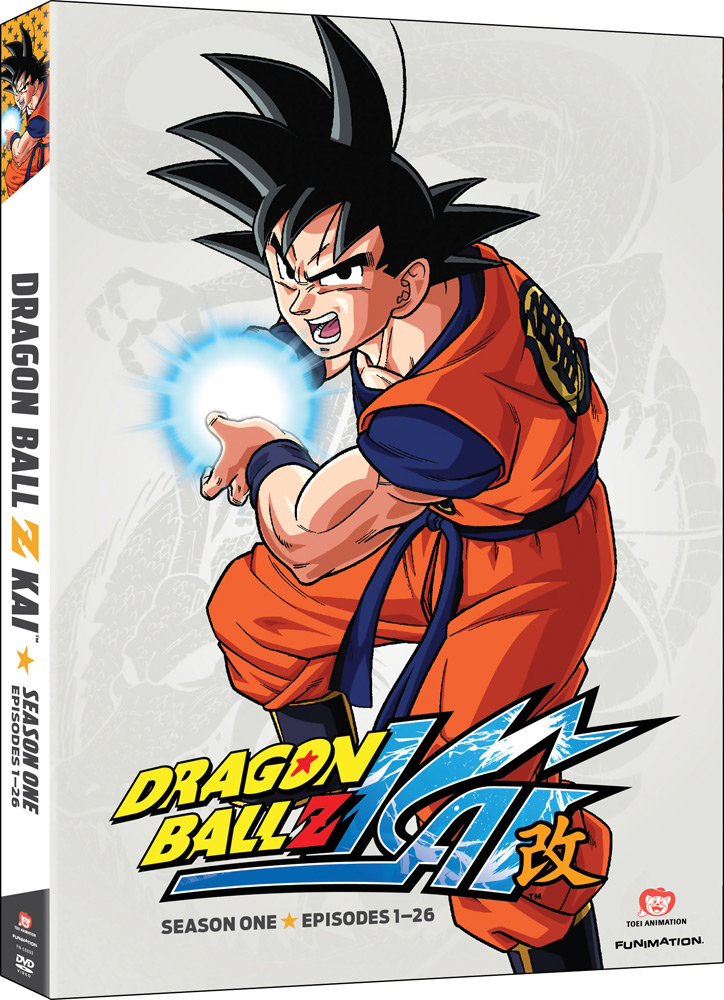 Dragon Ball Z Kai Season 1 DVD