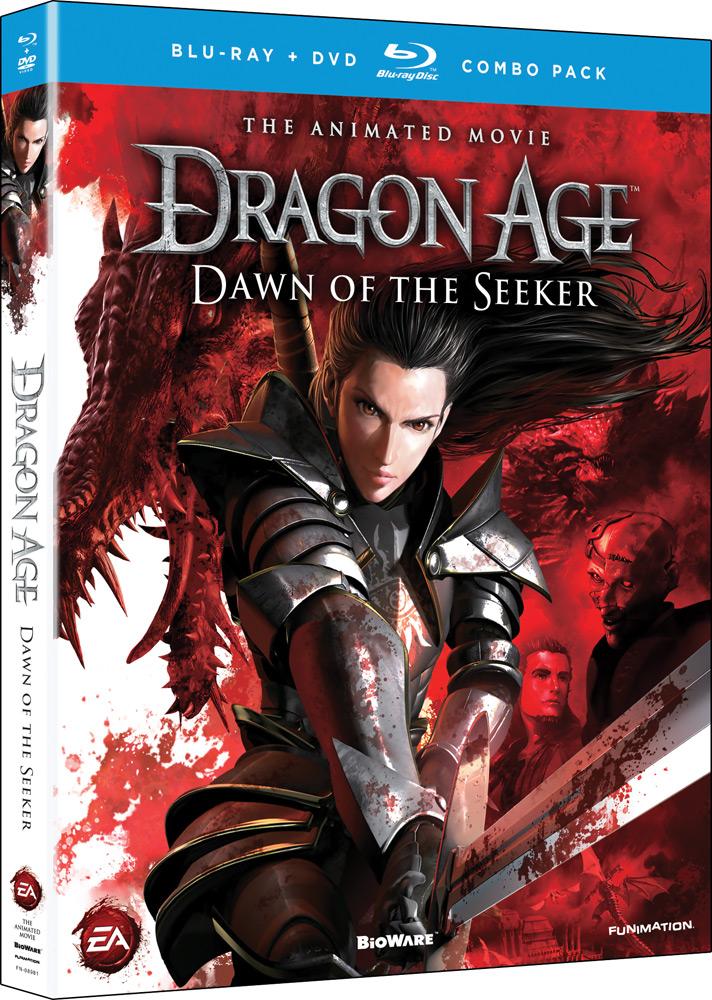 Dragon Age Dawn of the Seeker Blu-ray/DVD