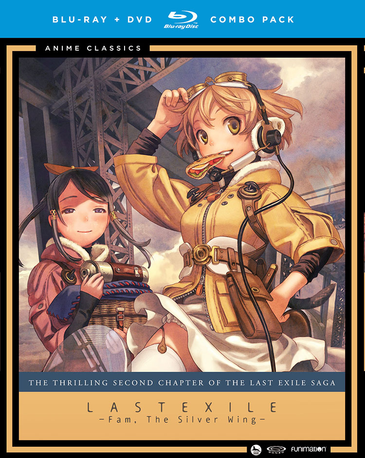 Last Exile Fam The Silver Wing Blu-ray/DVD Anime Classics
