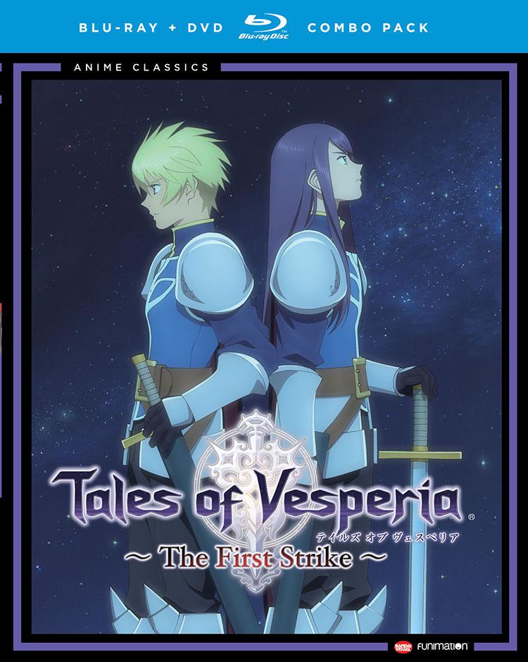 Tales of Vesperia The First Strike Blu-ray/DVD Anime Classics