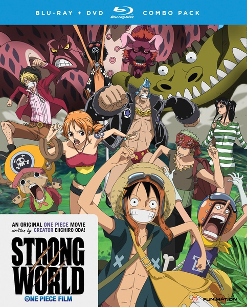 One Piece Movie 10 Strong World Blu-ray/DVD