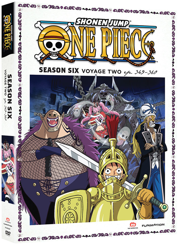 One Piece Season 6 Part 2 DVD Uncut
