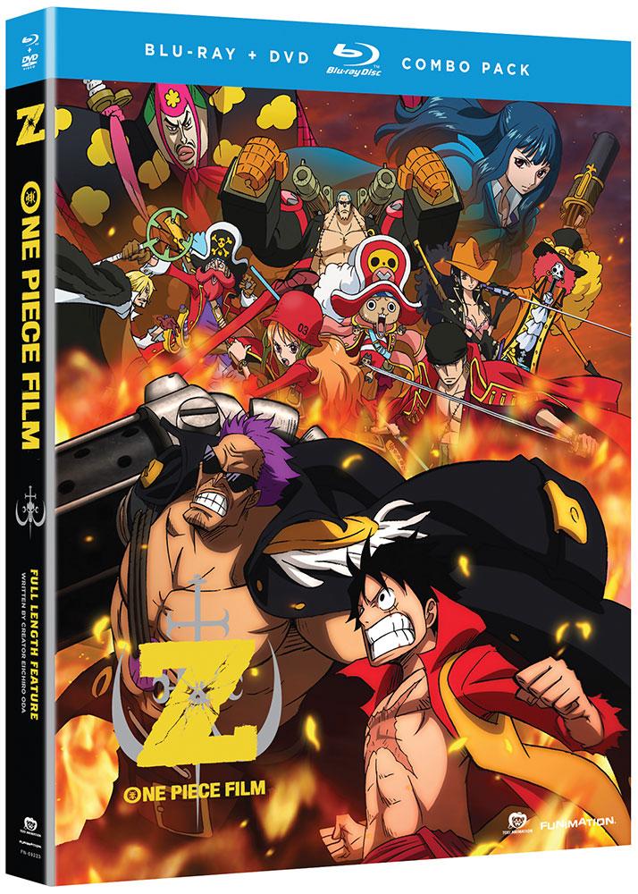 One Piece Movie 12 Film Z Blu-ray/DVD
