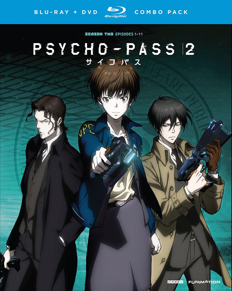 PSYCHO-PASS Season 2 Blu-ray/DVD