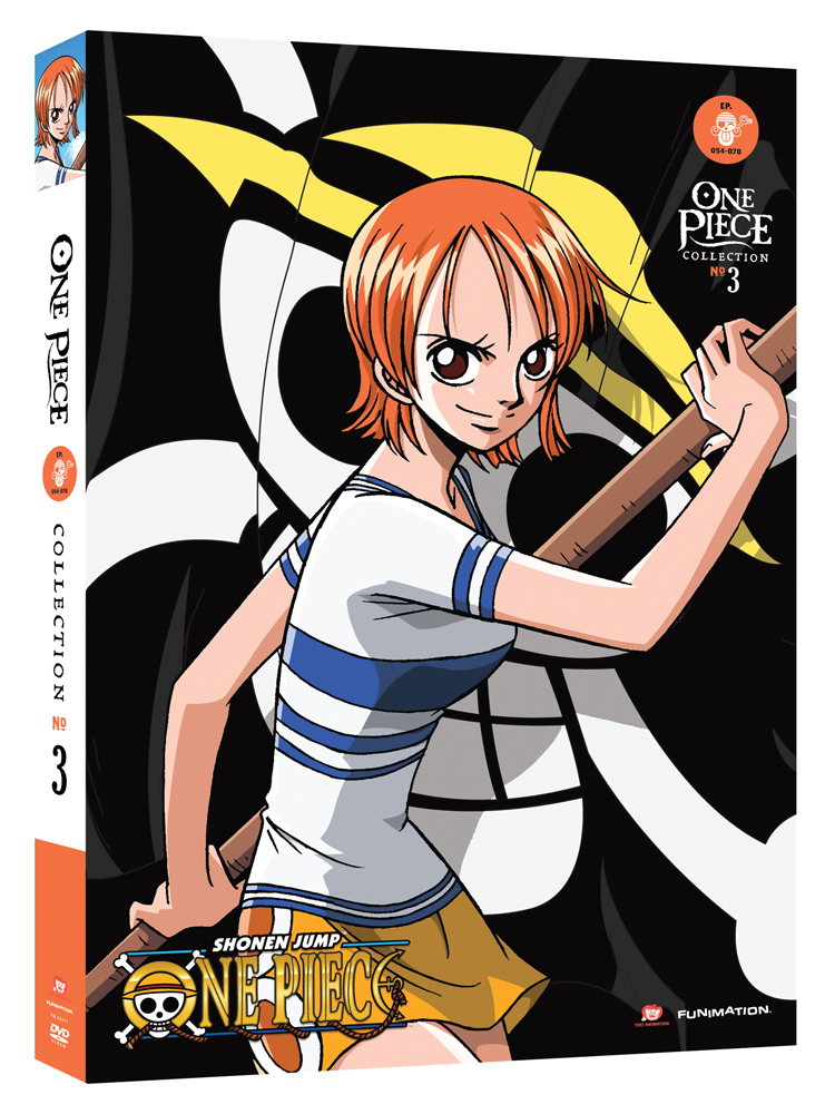 One Piece Collection 3 DVD Uncut