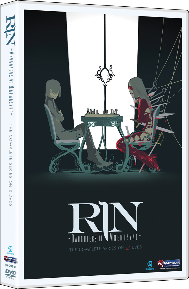 Rin Daughters of Mnemosyne DVD Anime Classics