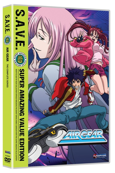 Air Gear Complete Series DVD SAVE Edition