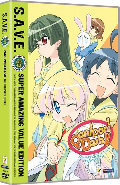 Pani Poni Dash Complete Series DVD SAVE Edition