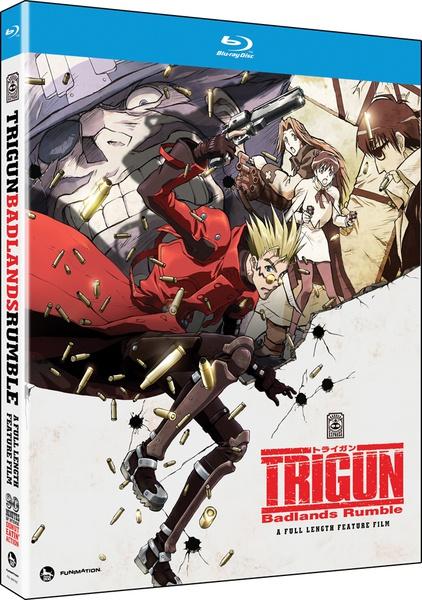 Trigun Badlands Rumble Blu-ray
