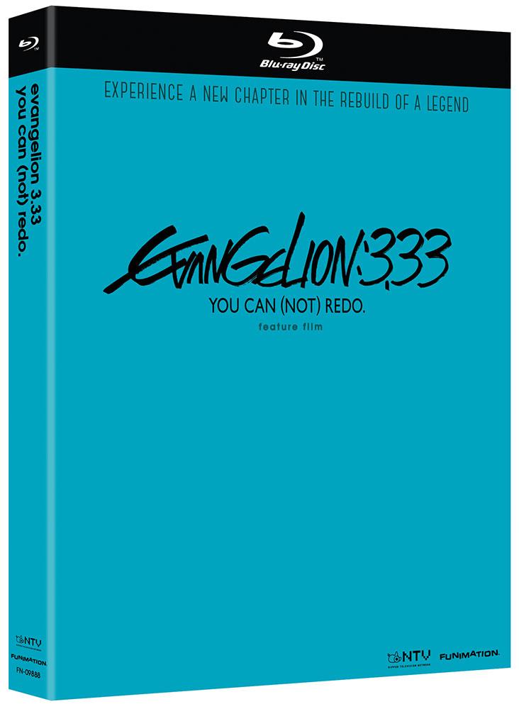 Neon Genesis Evangelion 3.33 You Can (Not) Redo Blu-ray