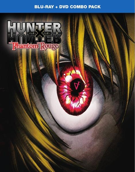Hunter X Hunter Phantom Rouge Blu-ray/DVD
