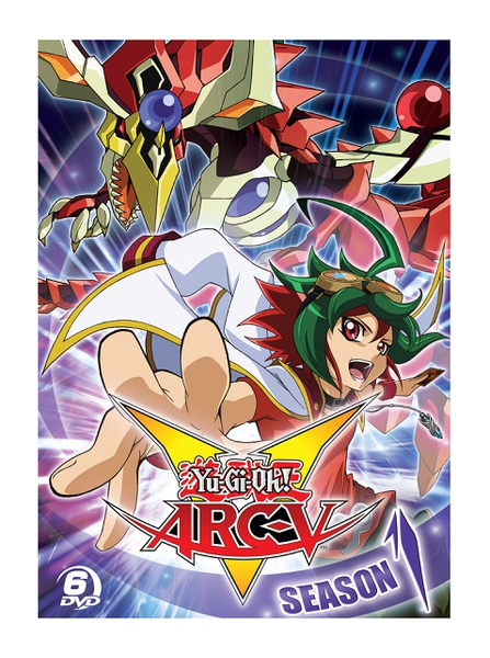 Yu-Gi-Oh! Arc V Season 1 Complete Collection DVD