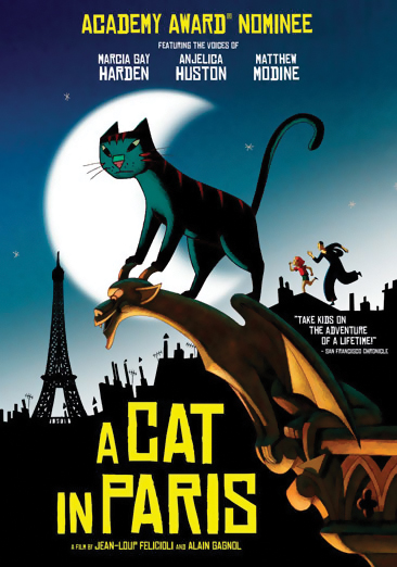 A Cat in Paris DVD