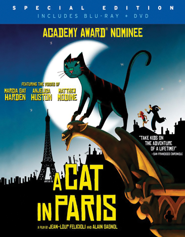 A Cat in Paris Blu-ray