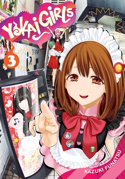 Yokai Girls Manga Volume 3