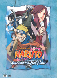 Naruto Movie Ninja Clash in the Land of Snow Deluxe Edition DVD
