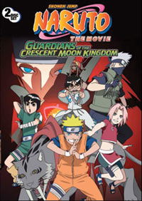 Naruto Movie 3 Guardians of the Crescent Moon DVD
