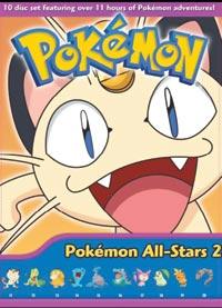 Pokemon All Stars Collection 2 DVD (Vols 11-20)