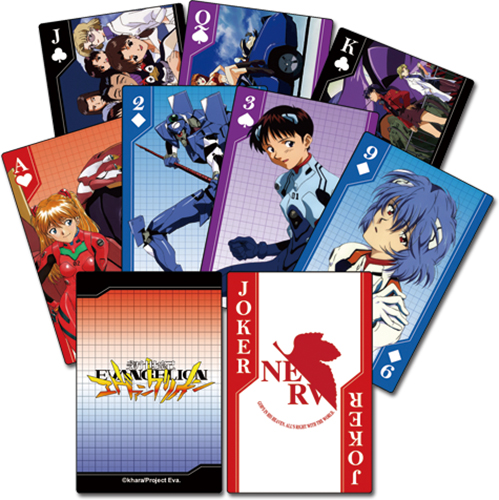 Neon Genesis Evangelion Playing Cards