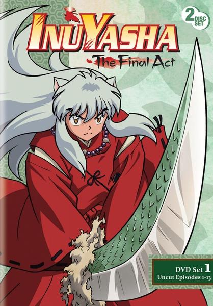 Inu Yasha The Final Act Set 1 DVD