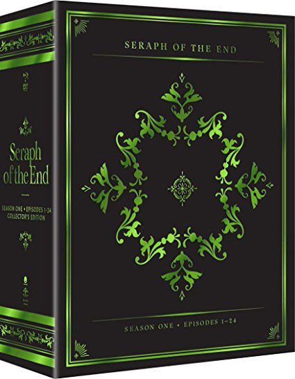Seraph of the End Vampire Reign Collectors Edition Blu-ray/DVD