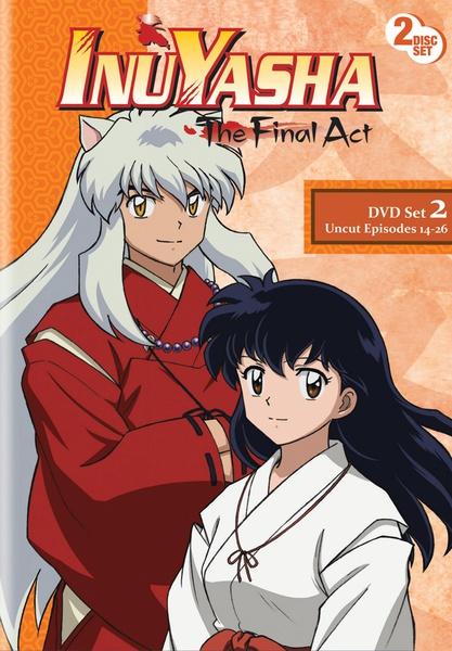 Inu Yasha The Final Act Set 2 DVD