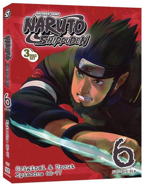 Naruto Shippuden Set 6 DVD Uncut