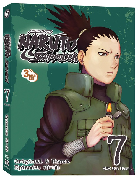 Naruto Shippuden Set 7 DVD Uncut