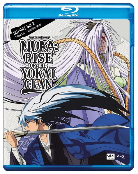 Nura Rise of the Yokai Clan Set 2 Blu-ray
